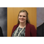 From left to right: Bob Goodband received the 2019 American Feed Industry Association Award in Nonruminant Nutrition Research; Cassie Jones received the 2019 ASAS Early Career Achievement Award; and KC Olson received the 2019 ASAS Animal Management Award. (Courtesy of K-State Research and Extension)