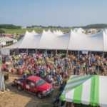 Three years of planning, one host farm, 1,500 volunteers, and over 600 exhibitors in a 70-acre field created a magnificent view and well-run show for the 2019 Wisconsin Farm Technology Days last week. (Courtesy of Wisconsin Farm Technology Days)