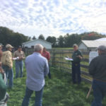 Jerry Lindquist speaks to attendees at the 2018 Beginning Grazing School / Photo by Kable Thurlow