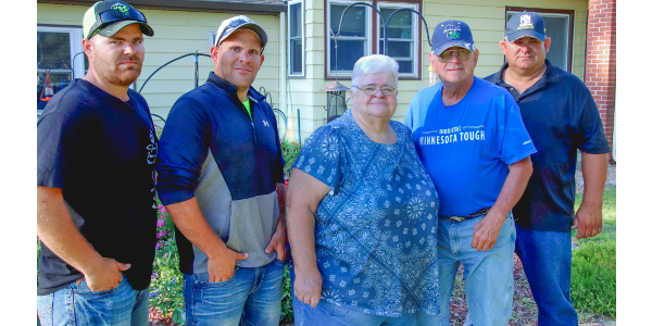 "The Ide family of Lester Prairie has been named McLeod County's ""2019 Farm Family of the Year"" by the University of Minnesota. (Courtesy of University of Minnesota Extension)"