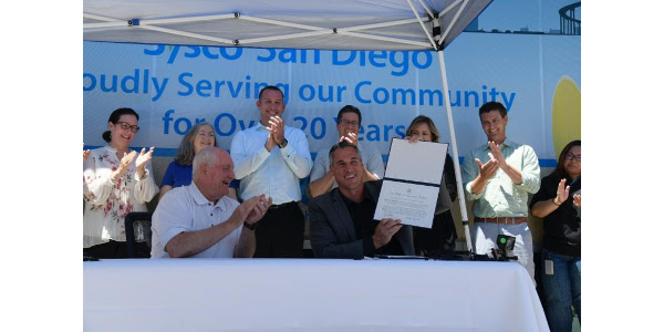 Sysco signs Pledge to America's Workers