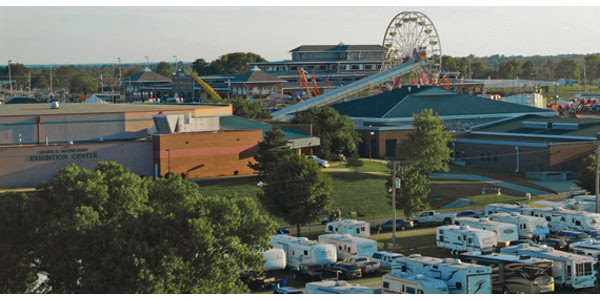 The Missouri State Fair's public campground, sponsored by Missouri State Parks, is set to open by 9 am, Friday, Aug. 2. (Courtesy of Missouri State Fair)