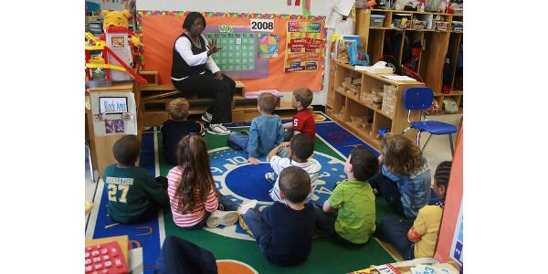 classroom, teacher