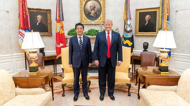 Trump says 'very big' trade deal with Japan close