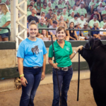 Wilson, owned by Katie Van Den Top of Hull sold for $17,497.20. (Courtesy of Iowa Cattlemen's Association)