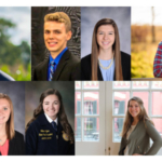 Scholarship recipients include Collin Wille, Rice Lake, Wis., Northeast Iowa Community College; Brett Mullikin, Waldo, Wis., University of Wisconsin-Madison Farm and Industry Short Course; Jillian Tyler, Granton, Wis., University of Wisconsin-River Falls; Bailey Larson, Alma Center, Wis., University of Wisconsin-River Falls; Emma Gwidt, Pulaski, Wis., University of Wisconsin-Madison; Madeline Meyer, Ionia, Mich., Michigan State University (MSU); and Brandon Biese, Chilton, Wis., University of Wisconsin-Madison. (Courtesy of CentralStar)