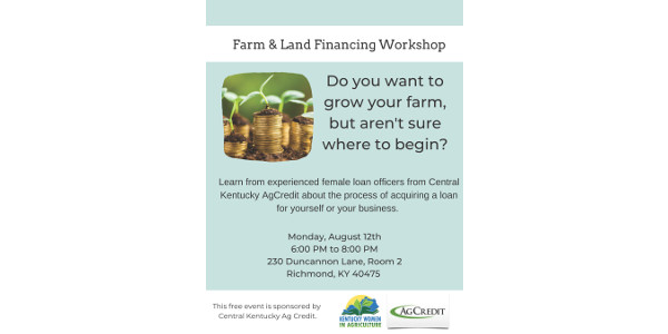 Learn from experienced female loan officers from Central Kentucky AgCredit about the process to acquire a loan for yourself or your business.