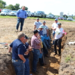 Lafayette Ag Stewardship Alliance will host its annual field day on Aug. 15. The event will feature a soil pit (among other topics) that will allow farmers to see how water moves through the soil, the impact of cover crops, compaction and overall soil health. (Courtesy of Lafayette Ag Stewardship Alliance)