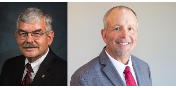 National Corn Growers Association (NCGA) President Lynn Chrisp (left) and American Soybean Association (ASA) President Davie Stephens (right) urge President Trump to uphold his commitment to America's farmers and the Renewable Fuel Standard (RFS). (ncga.com/soygrowers.com)
