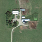 Pat and Karen Brodeen's home farm on Leander Road. (Courtesy of University of Minnesota Extension)