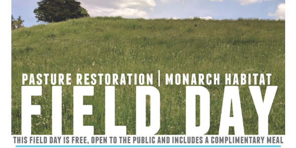 Iowa Learning Farms, in partnership with Iowa Monarch Conservation Consortium and Iowa State University Extension and Outreach, will host a pasture restoration and monarch habitat field day on Tuesday, September 10th from 10:30 a.m. to 12:30 p.m. at Nathan Anderson's farm near Cherokee. (Screenshot from flyer)