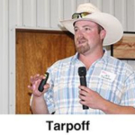 A.J. Tarpoff, K-State extension beef veterinarian, explained the most common external parasites found on cattle are horn, stable and face flies and ticks. (Courtesy of KLA)
