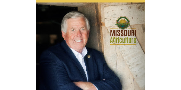 """Thank you for helping make the Missouri State Fair our state's top agriculture showcase,"" says Parson. (Courtesy of Missouri Department of Agriculture)"