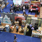 Minnesota Pavilions can expand your market reach! Above, the MN Pavilion at the Sweets and Snacks Expo, Chicago 2019. (Courtesy of Minnesota Department of Agriculture)