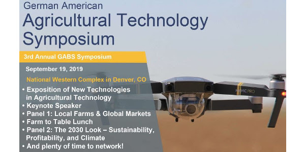 Join the German American Chamber of Commerce at the National Western Complex to discuss current technology in agriculture and learn about some of the innovators and investors supporting local farms and ranches. (Courtesy of Colorado Farm Bureau)