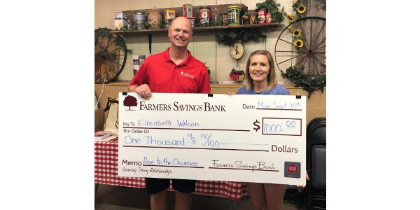 The contest will be held on Monday, Sept. 9 and is sponsored by Farmer's Savings Bank, Edward Jones, and Asher Motor Company.(Courtesy of Clay County Fair)
