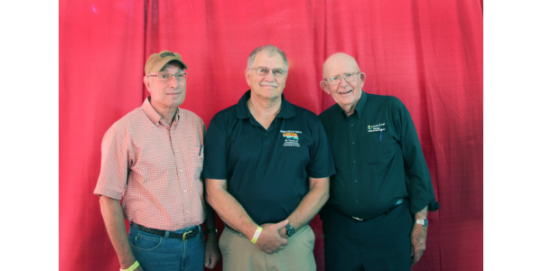 Photo from left, Tom Pesek, Tom Moser and James Nelson. (Courtesy of Nebraska Association of Resources Districts)