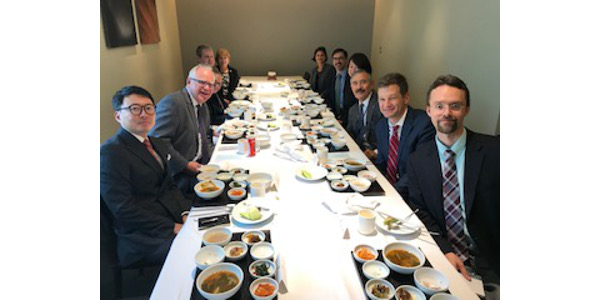 Governor Tim Walz recently visited Japan and South Korea to promote Minnesota businesses and bolster worldwide economic partnerships. (Courtesy of Office of Governor Tim Walz and Lt. Governor Peggy Flanagan)