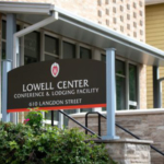Lowell Center's Langdon Street entrance, in Madison, Wis., Tuesday, Sept. 24, 2019. (Photo by Michael P. King/UW–Madison CALS)
