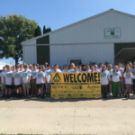 Edgewood-Colesburg & Maquoketa Valley 7th Grade Students attend Farm Safety Day. (Courtesy of ISU Extension and Outreach)
