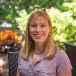 Emily Heaton is a plant scientist who is working on sustainable biomass production systems. She will discuss how the use of perennial plants in underperforming parts of fields can have a positive impact on the farm economy, water quality and bioenergy feedstock production. (Courtesy of Iowa Learning Farms)