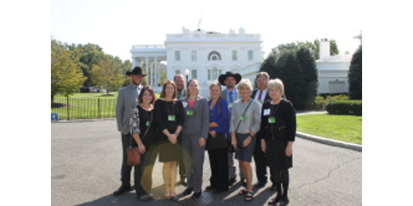 Twelve Farm Bureau members from across Minnesota met with their members of Congress in Washington, D.C. during the Minnesota Farm Bureau Federation's (MFBF) Farmers to Washington, D.C. trip September 10-13. (Courtesy of MFB)