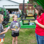 Across Iowa, county extension offices provide farm safety training for elementary age students. (Courtesy of ISU Extension and Outreach)