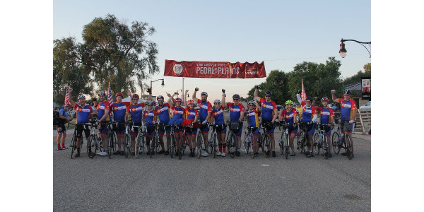 Pedal the Plains is one of the best ways for Colorado Farm Bureau to connect with consumers. (Courtesy of CFB)