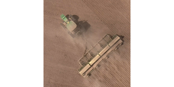 It's September, so you know what that means: time to break out the drills and air seeders and plant some wheat. (Courtesy of Kansas Wheat)