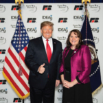 On September 11 at 12:30 p.m. in the NDFB tent at the Big Iron Farm Show in Fargo, NDFB member Val Wagner will share her incredible story about getting your voice heard and meeting President Trump. (Courtesy of North Dakota Farm Bureau)
