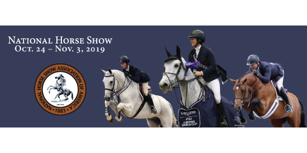The popular grant was established in 2015 to honor long-time horseman Leo Conroy, who co-managed the National Horse Show and was Chairman of the National Horse Show Equitation Committee and has helped many young equestrians achieve their goal of competing in the ASPCA Maclay Championships the at the National Horse Show. (Courtesy of National Horse Show)