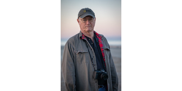 Former National Geographic environment editor Dennis Dimick discussed 'Living in the Human Age' during the Henry C. Gardiner Global Food Systems lecture Oct 14 at K-State. (Courtesy of K-State Research and Extension)