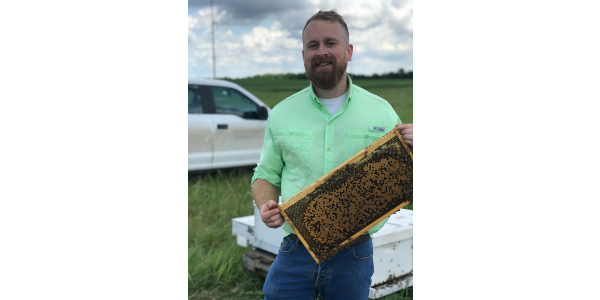 Randall Paul Cass, Extension Entomologist at Iowa State University, will present research that is currently being conducted at Iowa State University, which focuses on observing the challenges and opportunities for bees in Iowa's agricultural landscapes. (Courtesy of Iowa Learning Farms)