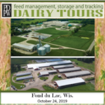 The PDPW Dairy Feed Management, Storage, and Tracking Tours will be held Thur., October 24, departing from the Radisson Hotel and Conference Center, 625 W. Rolling Meadows Dr. in Fond du Lac, Wis., at 9:30 a.m. (Courtesy of PDPW)