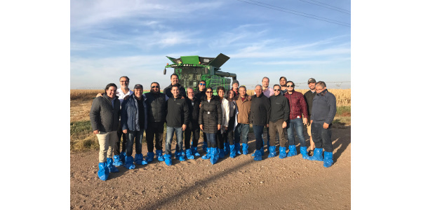 The trade delegation in Nebraska this week represented different facets of the Mexican ethanol industry. (Courtesy of Nebraska Corn Board)