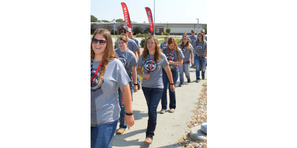 Students tour the NCTA campus. Discovery Day is Monday in Curtis. (NCTA file photo)