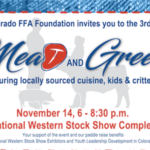 The Colorado FFA Foundation will host its 3rd Annual Meat and Greet on November 14th. (Courtesy of Colorado Farm Bureau)