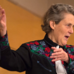 File photo of Temple Grandin during her last visit to UW-River Falls in 2014.