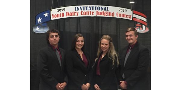 Dairy team. (Photo credit: MU Extension)