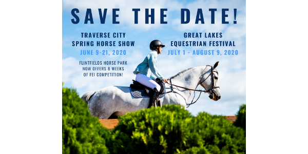 With the addition of the Traverse City Spring Horse Show, which will be held June 9 - 21, 2020, the total summer schedule will feature eight weeks of thrilling equestrian action. (Courtesy of Phelps Media Group Marketing)