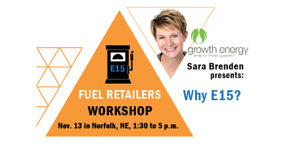 Attendees will hear a keynote from Sara Brenden of Growth Energy, as well as learn more about infrastructure, equipment and labeling requirements from regulatory agencies. (Courtesy of Nebraska Ethanol Board)