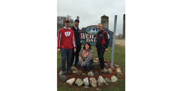 The 2019 PDPW Mentor Program, brought to you by Professional Dairy Producers® (PDPW), connects college students from four-year universities, technical schools and the UW-Madison Short Course with active, progressive dairy farmers for a one-day job shadow and on-going mentor/mentee experience. (Courtesy of PDPW)