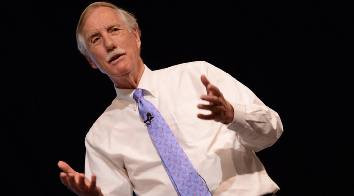 Sen. Angus King (U.S. Naval War College, Flickr/Creative Commons)
