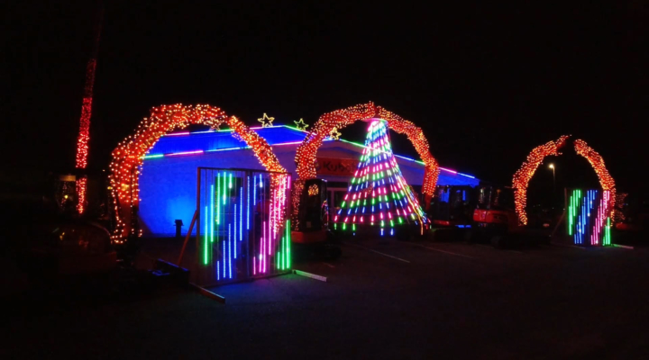 2020 Christmas Light Display Messick's Christmas Light Show exceeds $250,000 in donations