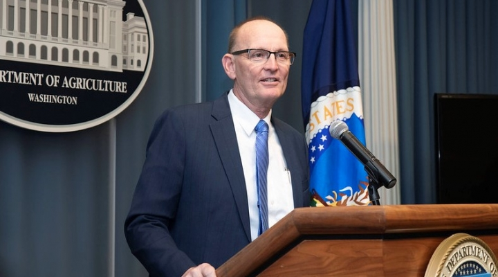 U.S. Department of Agriculture's Under Secretary for Marketing and Regulatory Programs, Greg Ibach (U.S. Department of Agriculture, Public Domain)