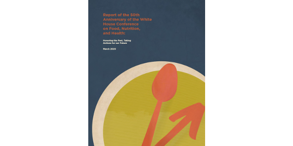 50th anniversary nutrition-health policy report