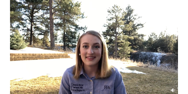 FFA members work together to spread positivity