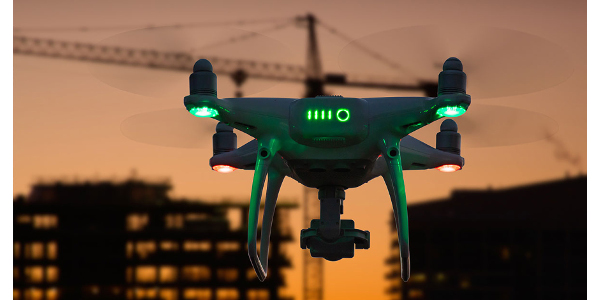 Drones help remove employees from risk