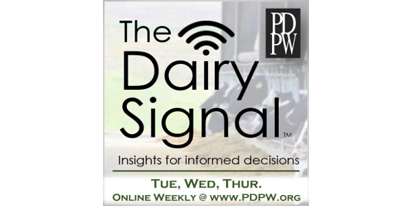 Week 30 of The Dairy Signal™