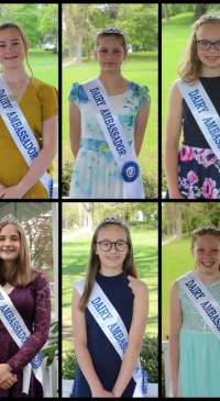 Susquehanna County Dairy Princess mini-pageant held
